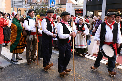Folklore parade in Madrid